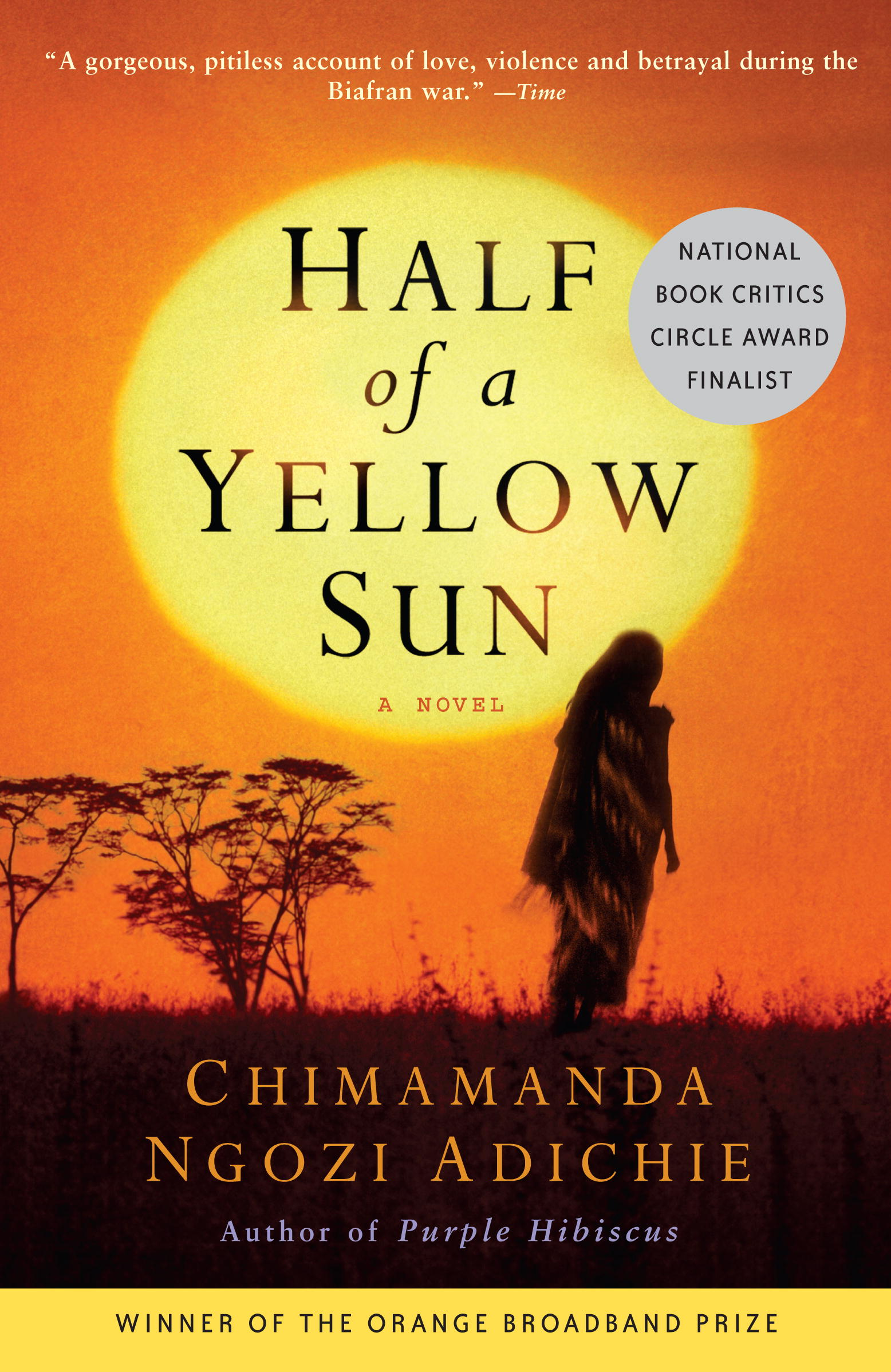 half of a yellow sun how Summary and reviews of half of a yellow sun by chimamanda ngozi adichie, plus links to a book excerpt from half of a yellow sun and author biography of chimamanda.